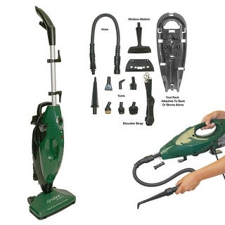 Gruene 2 in 1 Steam Mop and Cleaner - Green