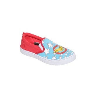 Wonder Woman Logo Women's Canvas Shoes