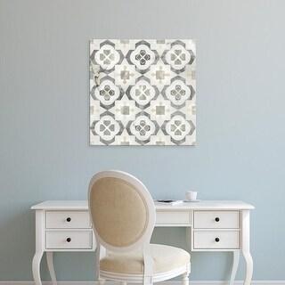 Easy Art Prints June Erica Vess's 'Marble Tile Design I' Premium Canvas Art