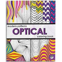 MindWare - Modern Patterns Coloring Book - Optical