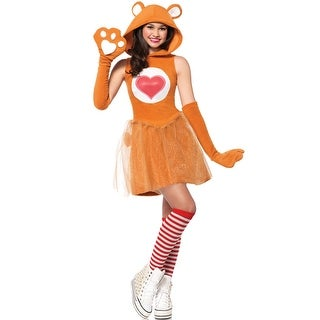 Leg Avenue Tenderheart Bear Teen Costume - Orange