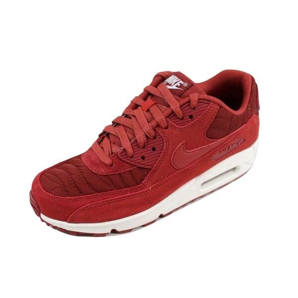 san francisco ddcb5 0de75 Nike Women  x27 s Air Max 90 Premium Dark Cayenne 443817-601