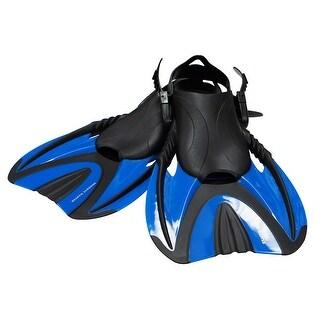 Snorkel Master Adult Blue Swimming Snorkeling Fins