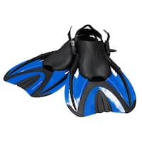 Snorkel Master Adult Blue Swimming Snorkeling Fins