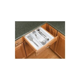 Rev-A-Shelf UT-15-52 UT Series 17-1/2 Inch Wide Trimmable Cutlery Tray Insert