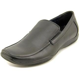 Masimo New York Europa Men Moc Toe Leather Loafer