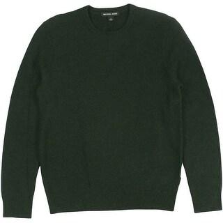 Michael Kors NEW Charcoal Gray Mens Size 2XL Crewneck Wool Sweater