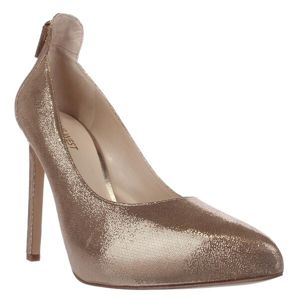 Nine West Lovelost Platform Dress Pumps, Light Gold Metallic - 8.5 us