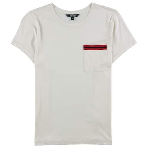 Ralph Lauren Womens Pocket Basic T-Shirt