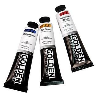 Golden - OPEN Acrylic Color - 2 oz Tube - Van Dyke Brown Hue