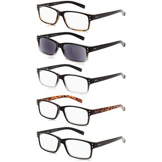 Link to Eyekepper 5-Pack Vintage Reading Glasses Includes Sun Readers Similar Items in Eyeglasses