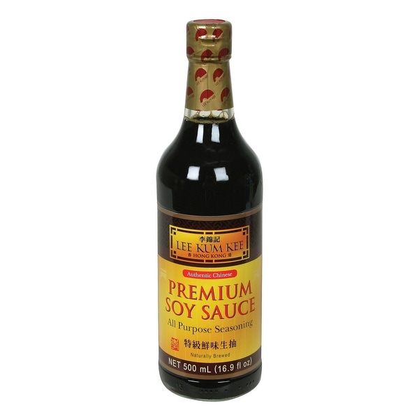 Lee Kum Kee Sauce - Soya - Case of 6 - 16.9 Fl oz.