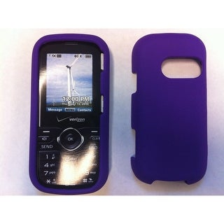 Verizon - Silicone Case for LG Cosmos VN250 - Purple