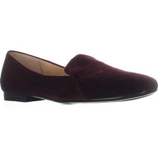 naturalizer Emiline Classic Slip On Loafers, Bordo