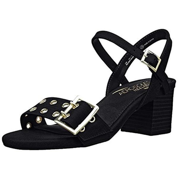 Womens Aerosoles Mid Town Dress Sandal Black