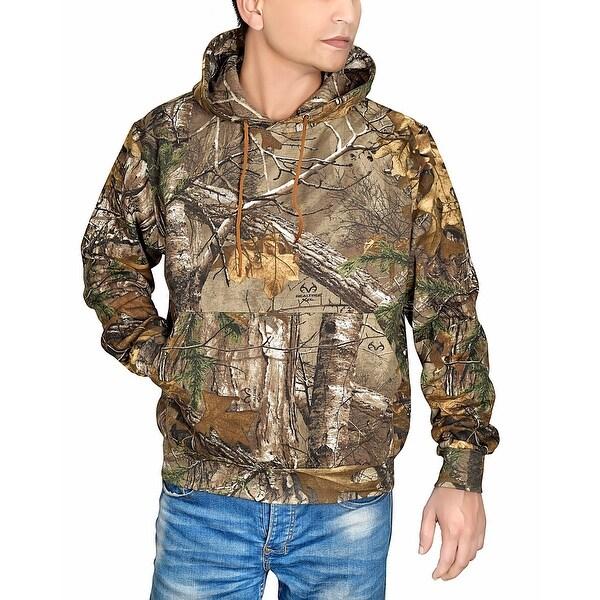 Men's Realtree Xtra Hunting Hooded Sweatshirt Camo Outdoor Hoodie. Opens flyout.