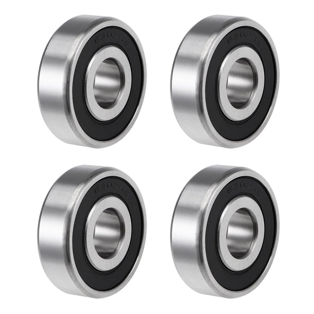 10 Ball Bearing Free Ship 6300-2RS RS 10mm Sealed