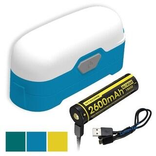 NITECORE LR30 205 Lumen Compact Camping Lantern with Battery (Blue)