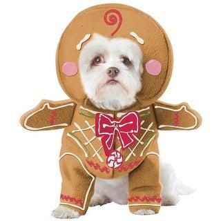 California Costumes 249741 Gingerbread Pup Pet Costume - Large
