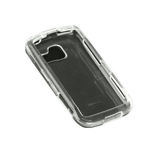 Technocel - Hard Snap-On Case for LG Optimus S LS670 Cell Phones - Clear