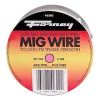 """Forney 42302 Flux Cored MIG Wire 0.035"""", 2 lbs"""
