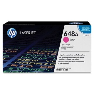 Hewlett Packard CE263A HP 648A (CE263A) Magenta Original LaserJet Toner Cartridg