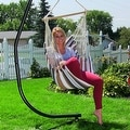 Sunnydaze Hanging Hammock Swing - Multiple Colors - Thumbnail 57