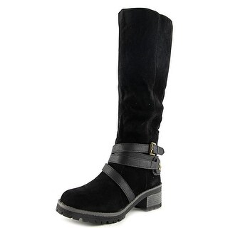 Fergalicious Rita Round Toe Synthetic Mid Calf Boot