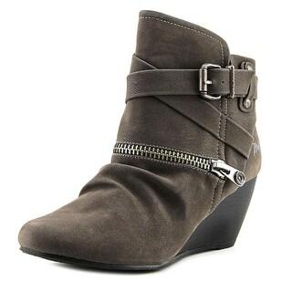 Blowfish Bayard Women  Round Toe Synthetic Gray Ankle Boot