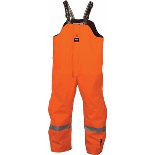 Helly Hansen Workwear Mens Hopedale Bib Pant High Visibility - Orange - 4XL