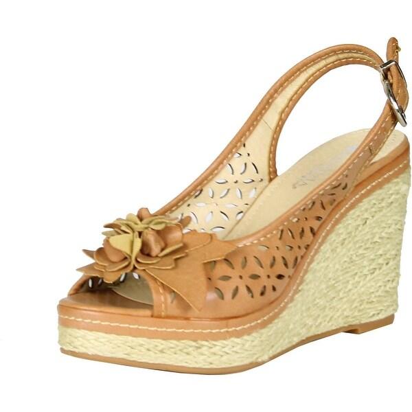 Patrizia Women Profile Sandals - Tan