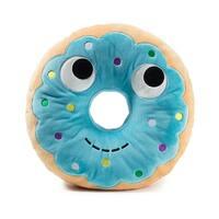 """Yummy World 16"""" Large Plush: Blue Donut - multi"""