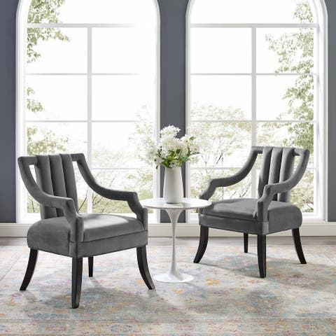 Harken Accent Chair Performance Velvet Set of 2