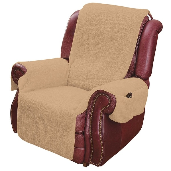 Cool Shop Recliner Chair Cover Protector With Pockets For Remotes Spiritservingveterans Wood Chair Design Ideas Spiritservingveteransorg