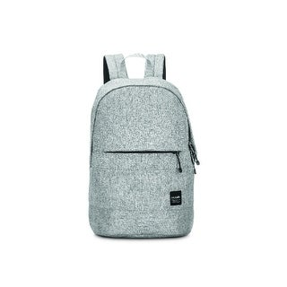 Pacsafe Slingsafe LX300 -Tweed Grey Anti-theft Backpack w/ Smart Zipper Security