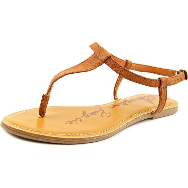 American Rag Krista Women Open Toe Synthetic Brown Thong Sandal