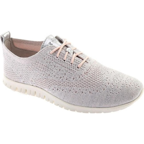 ea9eca583c20 Cole Haan Women  x27 s ZEROGRAND Stitchlite Wingtip Oxford Peach Blush