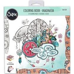 Imaginasia By Katelyn Lizardi - Sizzix Coloring Book