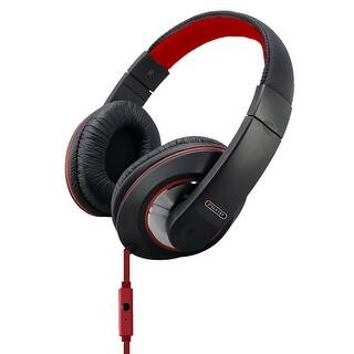 Sentry Deep Bass Headphones w/Mic Red|https://ak1.ostkcdn.com/images/products/is/images/direct/f359a455548e730a40d1bee05ff9b2d59f80bc7b/Sentry-Deep-Bass-Headphones-w-Mic-Red.jpg?impolicy=medium