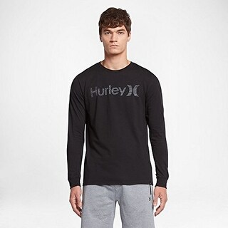 Hurley Mens Prm One And Only Pt Tee Ls