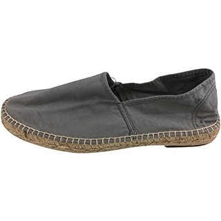 Natural World Mens Camping Yute Canvas Espadrille Loafers