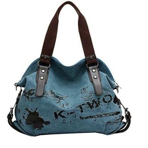 Graffiti Canvas Handbag