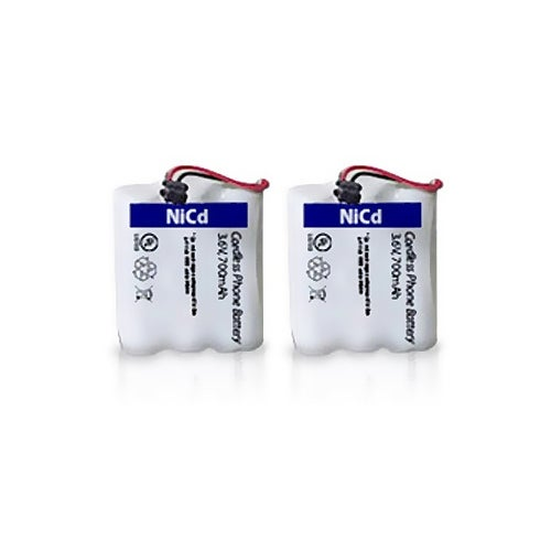 Replacement Battery for Uniden BT905 Battery Model- 700mAh (2 Pack)