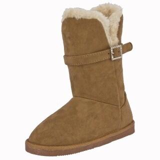 Northside Girls alycia Mid-Calf Pull On Snow Boots - 6