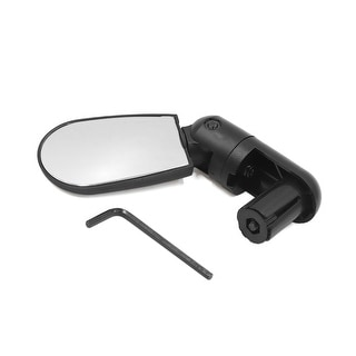 Link to Black Mini Rotate Flexible Bike Bicycle Cycling Rearview Handlebar Mirror Similar Items in Cycling Equipment