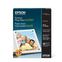 Epson Print - Epson Premium Glossy Photo Paper, Borderless, 5In X 7In. For Epson 3640