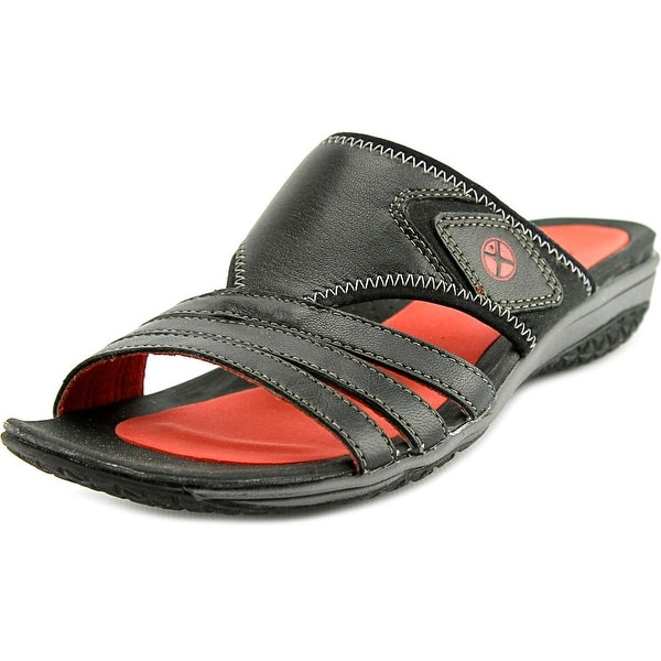 Shop Hush Puppies Beatrix Ione Open Toe Leather Slides Sandal Free