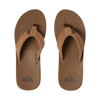 Quiksilver Mens Carver Suede Sandals