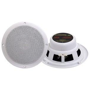 6.5'' Marine 120 Watts Dual Cone Waterproof Stereo Speakers