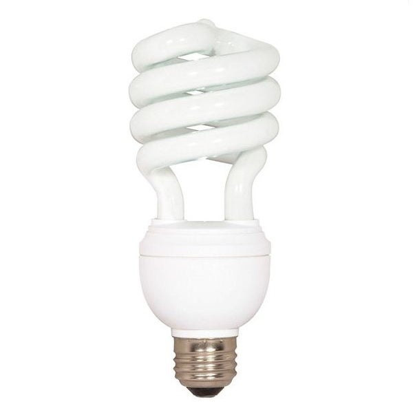 Satco S7341 Compact Fluorescent 3 Way Light Bulb, 12/20/26 Watts, 120 Volts